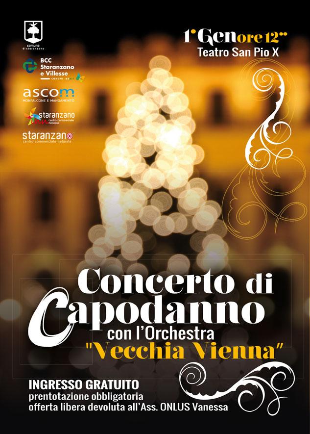Concerto di Capodanno con l'Orchestra Vecchia Vienna